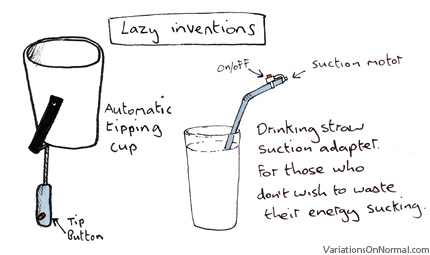 Lazy inventions