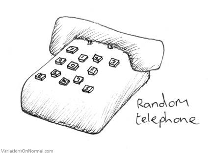 random telephone