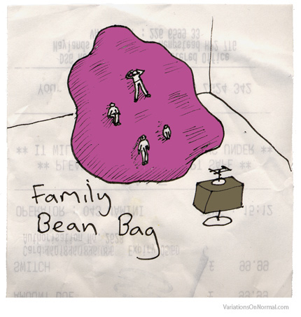 Family bean bag