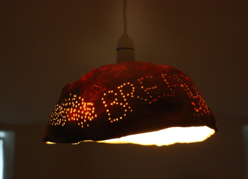 Bread Lampshade
