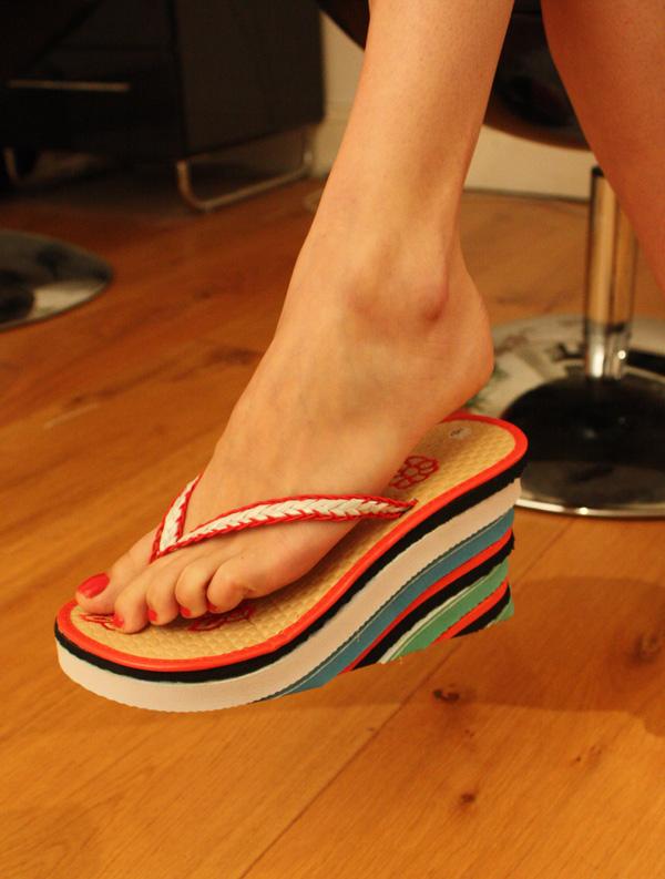 Flip Flop Wedge