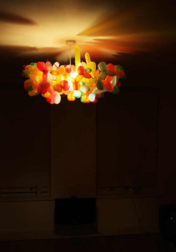Balloon Aniimal Chandelier by Dominic Wilcox