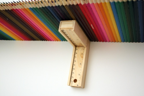 Pencil shelf dominic wilcox