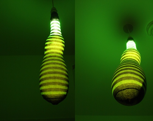 Sock lamp DOminic Wilcox