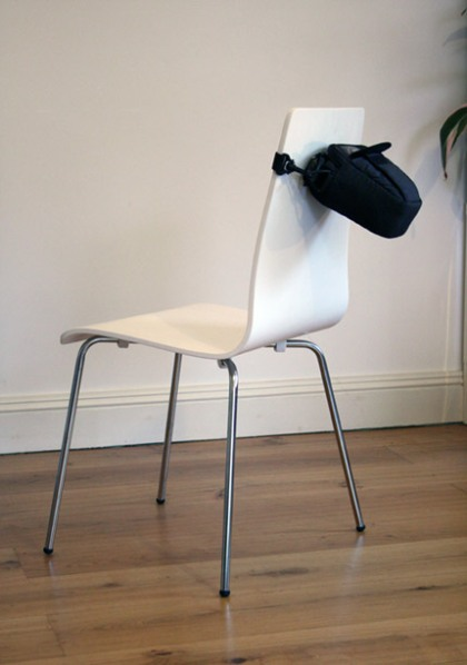 chair/bag by Dominic Wilcox