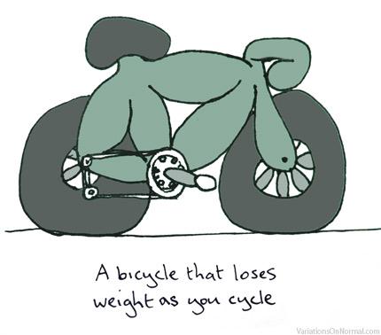 生活的自行车
