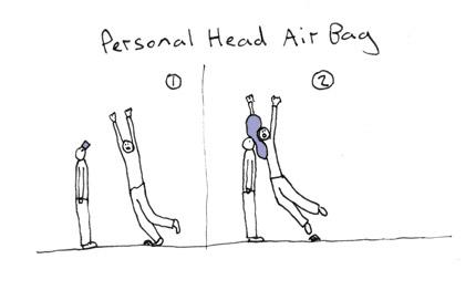 head air bag