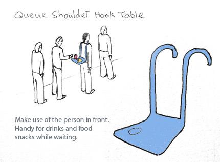 queue tray