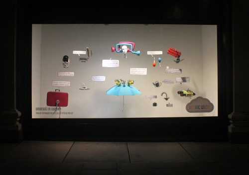 selfridges window Dominic Wilcox