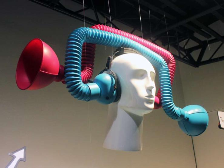 Reverse Listening Device by Dominic Wilcox