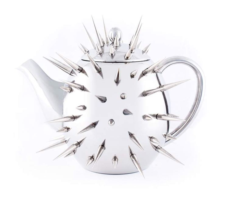 spike teapot by Dominic Wilcox