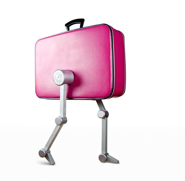Walking suitcase by Dominic Wilcox