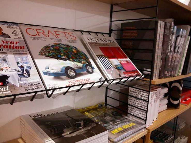 crafts magazine glass car